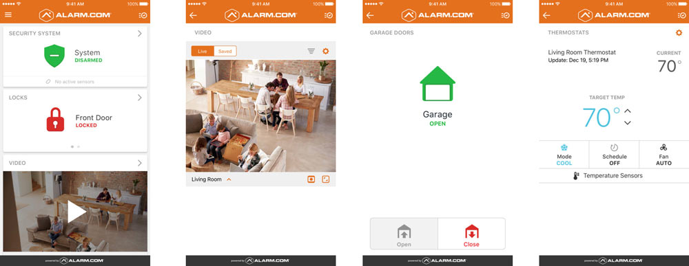 Alarmcom Home Security Systems Alarm Monitoring Video