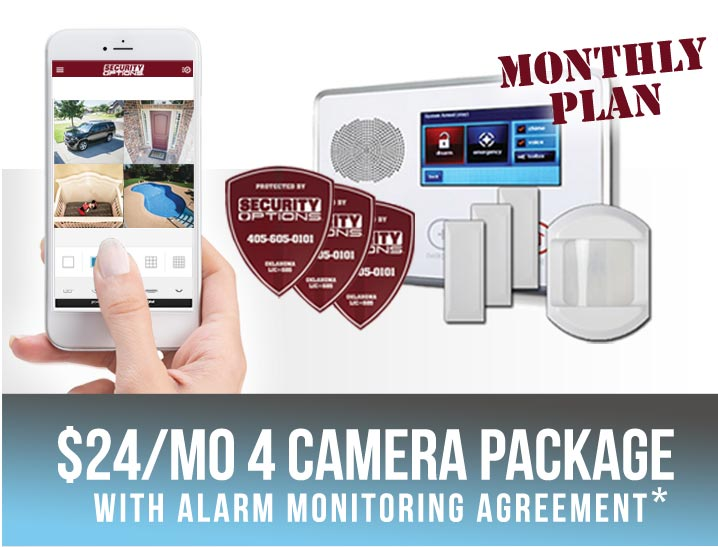 Security Options | Oklahomau0027s #1 Home Security System Store Home Security  Cameras
