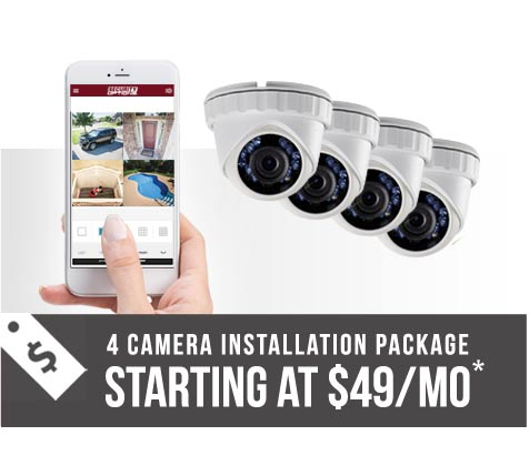 Best option for home security cameras